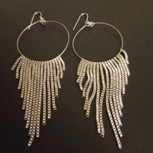 Jewelry - Statement Fringe Earrings